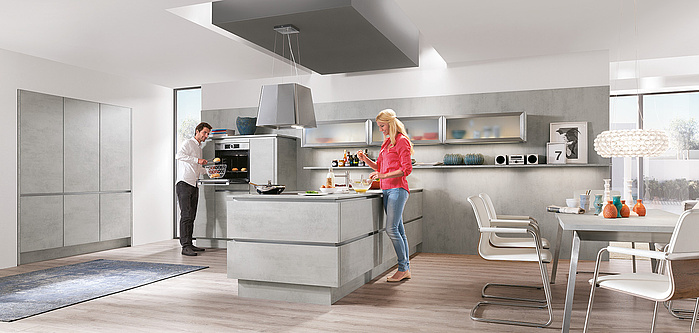 RIVA 892 - Decor Beton grijs