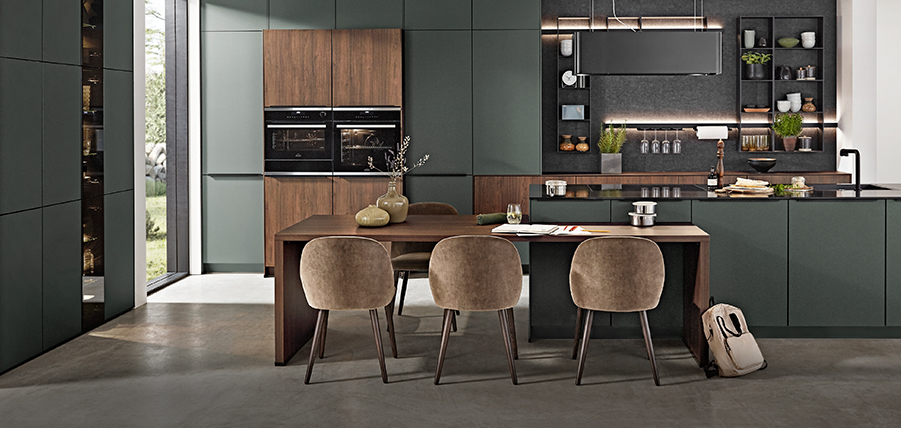 kitchens as unique as your taste nobilia k chen. Black Bedroom Furniture Sets. Home Design Ideas