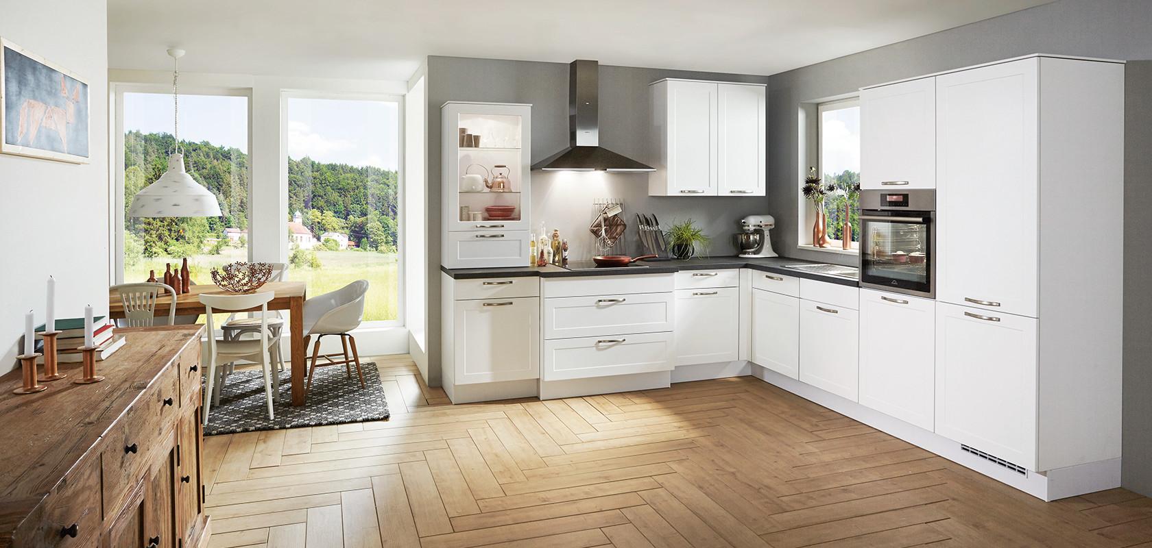 credo 764 alpinwei modern classic nobilia k chen. Black Bedroom Furniture Sets. Home Design Ideas