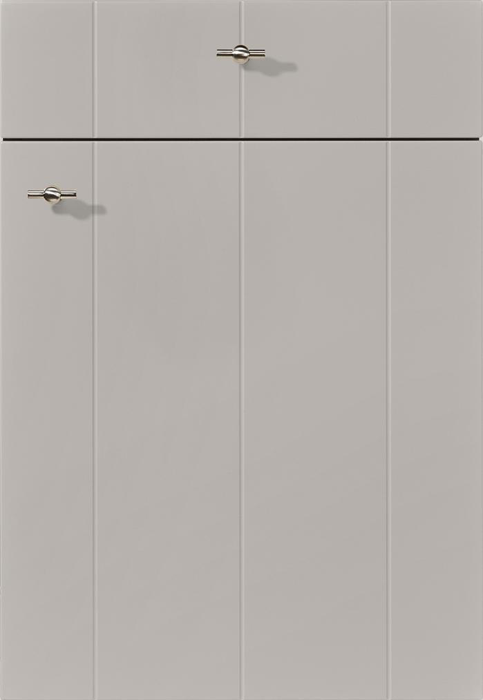 741 Lacquered laminate, stone grey