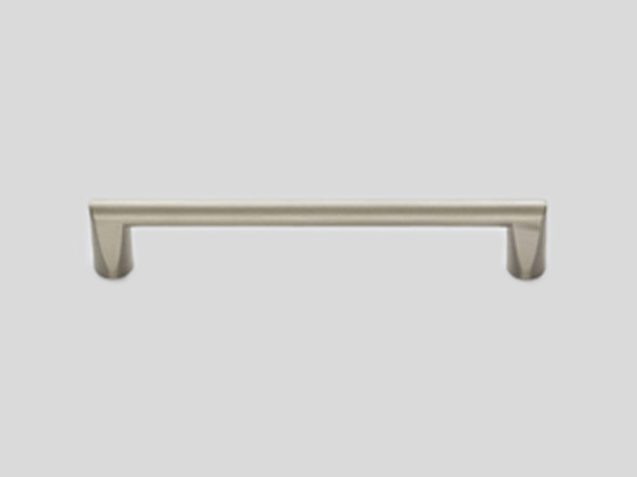 042 Metal handle, Stainless steel finish, Matt