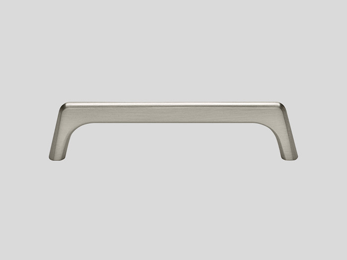 602 Metal handle, Stainless steel finish, Matt