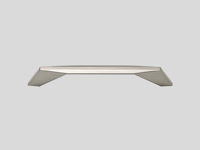 608 Metal handle, Stainless steel finish, Matt