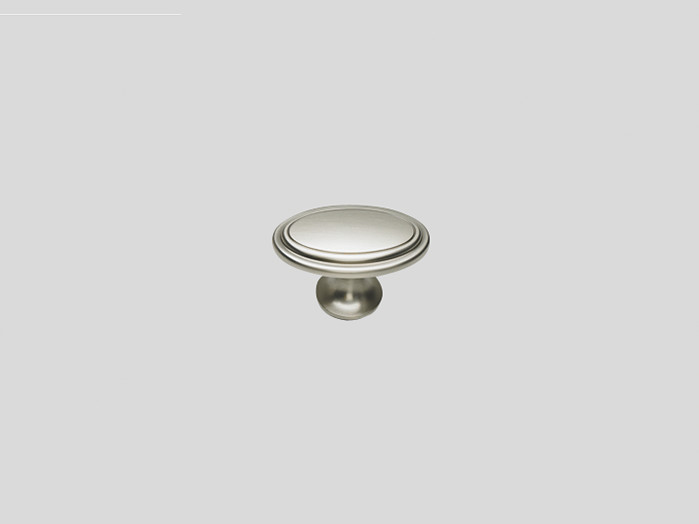 677 Knob, Stainless steel finish, Matt