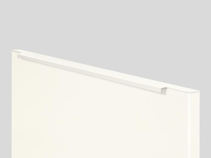 690 Bar handle, Alpine white