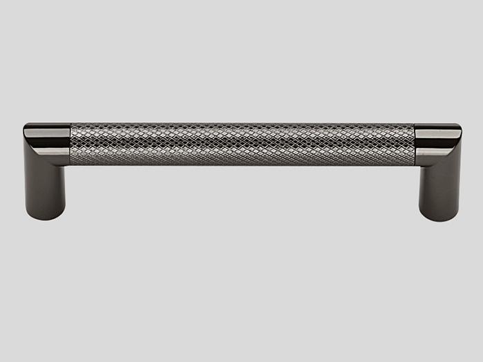718 Metal handle, Chromed black
