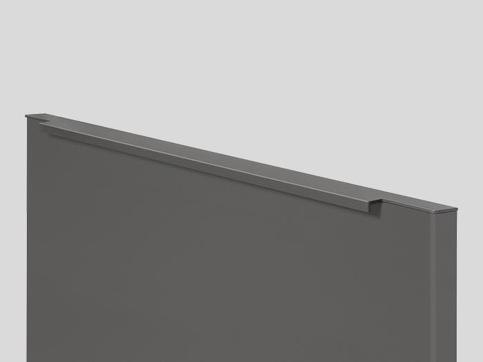 730 Bar handle, Slate grey