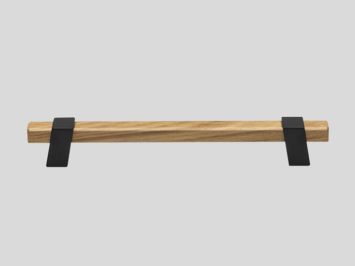 737 Wood / Metal handle, Oak / Black