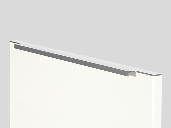 760 Bar handle, Stainless steel finish, Matt