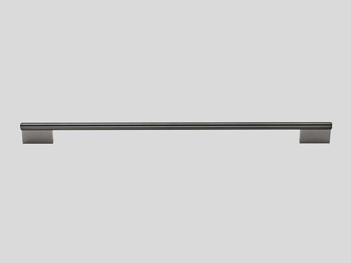 790 Railing handle, Stainless steel finish / Bronze colour glazed, Gloss