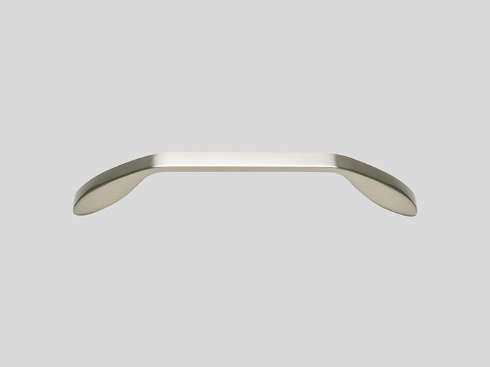 801 Metal handle, Stainless steel finish, Matt