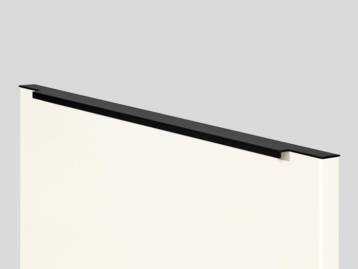 870 Bar handle, Black, in door width