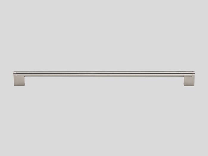890 Railing handle, Stainless steel finish, Matt