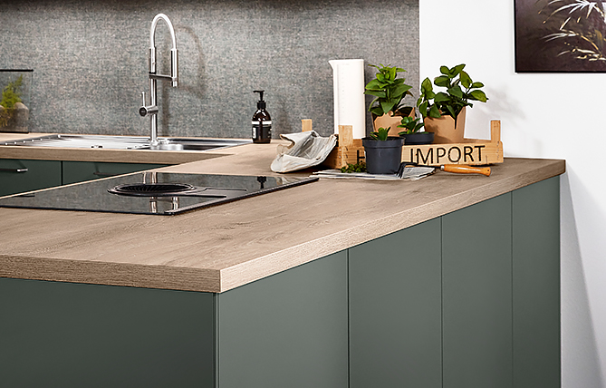 Worktop –the foundation of every nobilia kitchen.