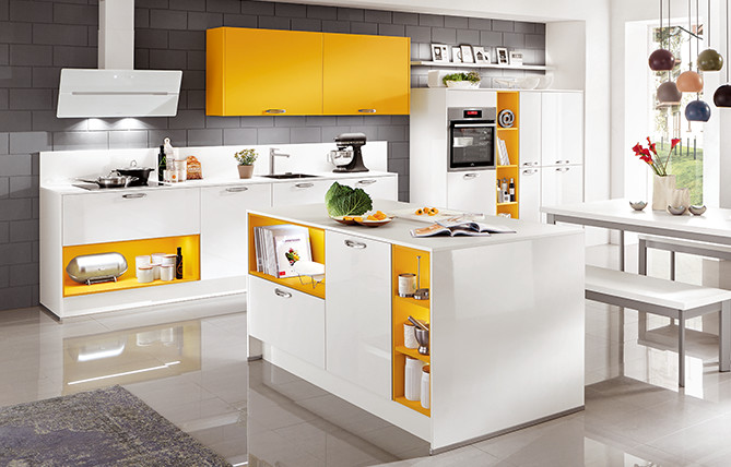 With COLOR CONCEPT nobilia kitchens are happier, fresher and bolder.