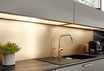 Pura 834 Weiss Hochglanz Moderne Kuchen Line N Grifflos