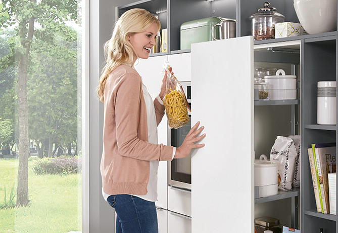 Larder unit – intelligent storage solutions.