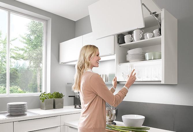 Достаточное пространство для головы с кухнями nobilia.