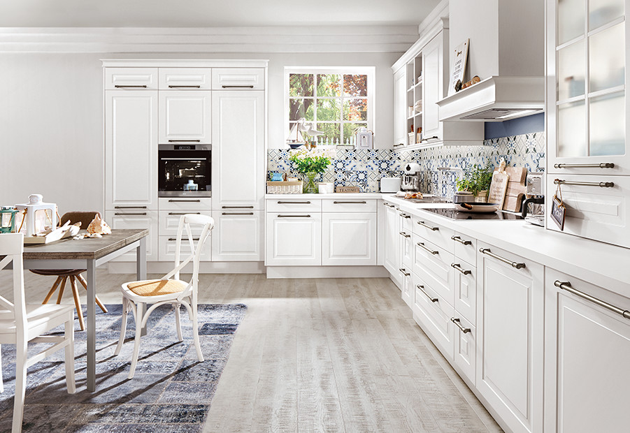Cottage style kitchens bring nature inside the home.