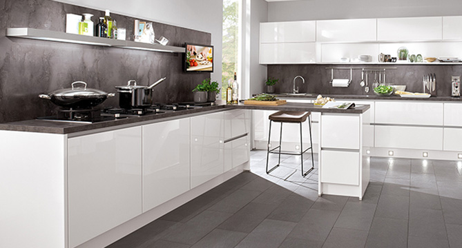 Alles zur nischengestaltung nobilia kuchen for Küchen nischenverkleidung
