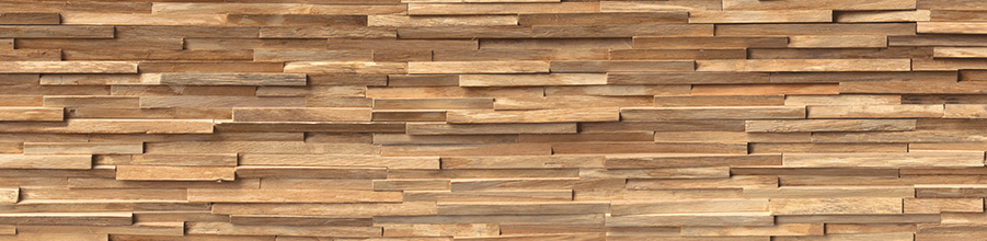 Niche cladding with Décor Staplewood by nobilia.