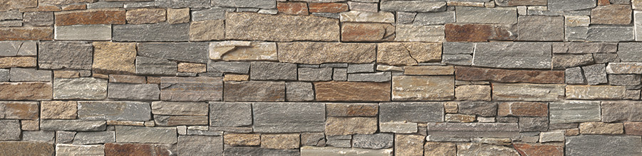 Niche cladding with Décor Stone wall by nobilia.