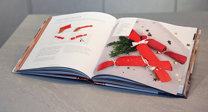 [Translate to es:] nobilia Weihnachtsbuch