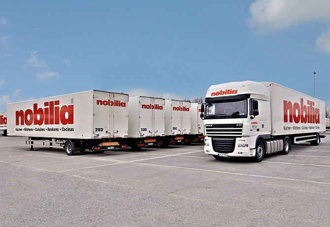 nobilia's own vehicle fleet