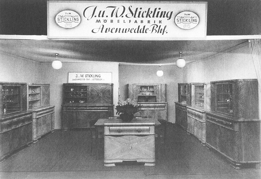1949: nobilia-keukenshowroom in Verl