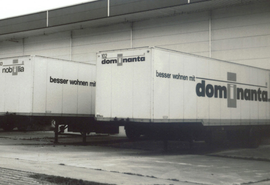 1976 : nobilia site de production Dominanta