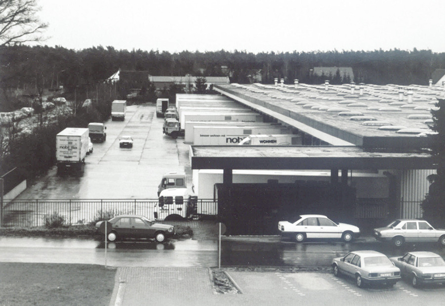 1985 : Ancien site de production nobilia d'Avenwedde