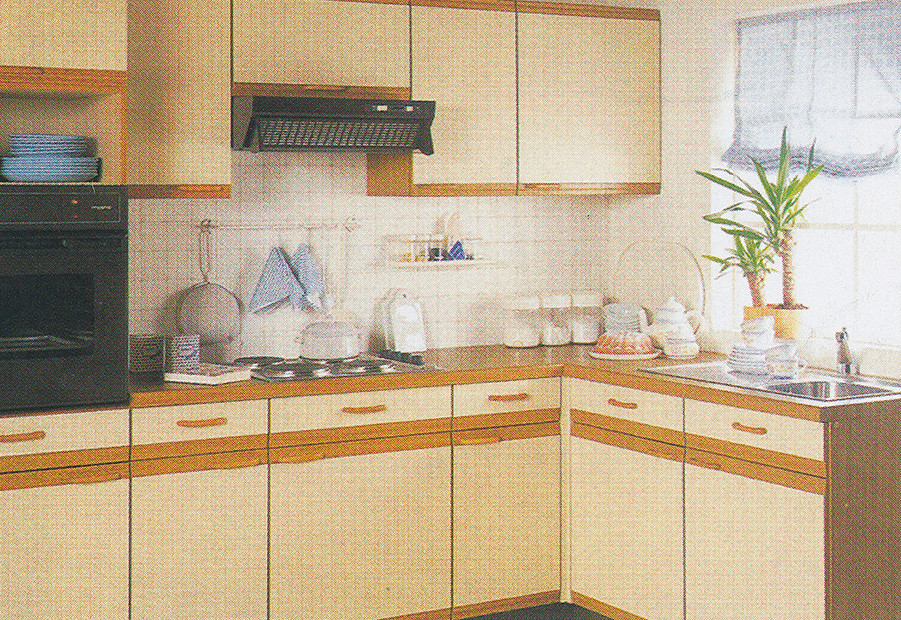 1989: nobilia fitted wood kitchen
