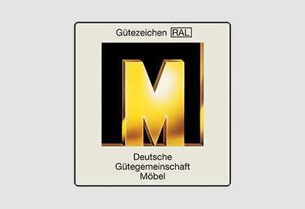 The Golden M – Deutsche Gütegemeinschaft Möbel (German quality control association)