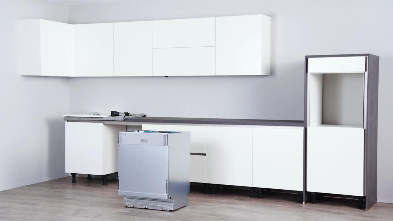 Montagevideo Line N Geschirrspüler Nobilia Küchen